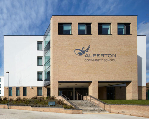 Alperton-Community-School - electrical contract
