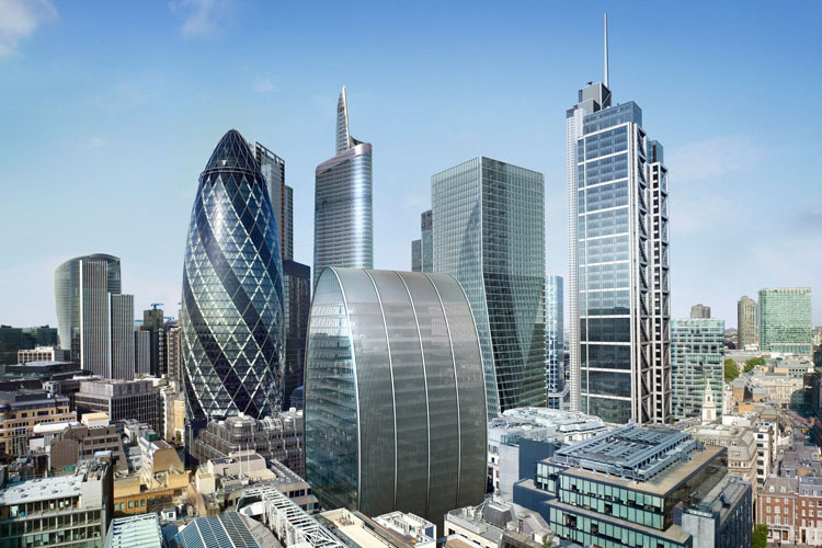 st mary axe electrical contract, London